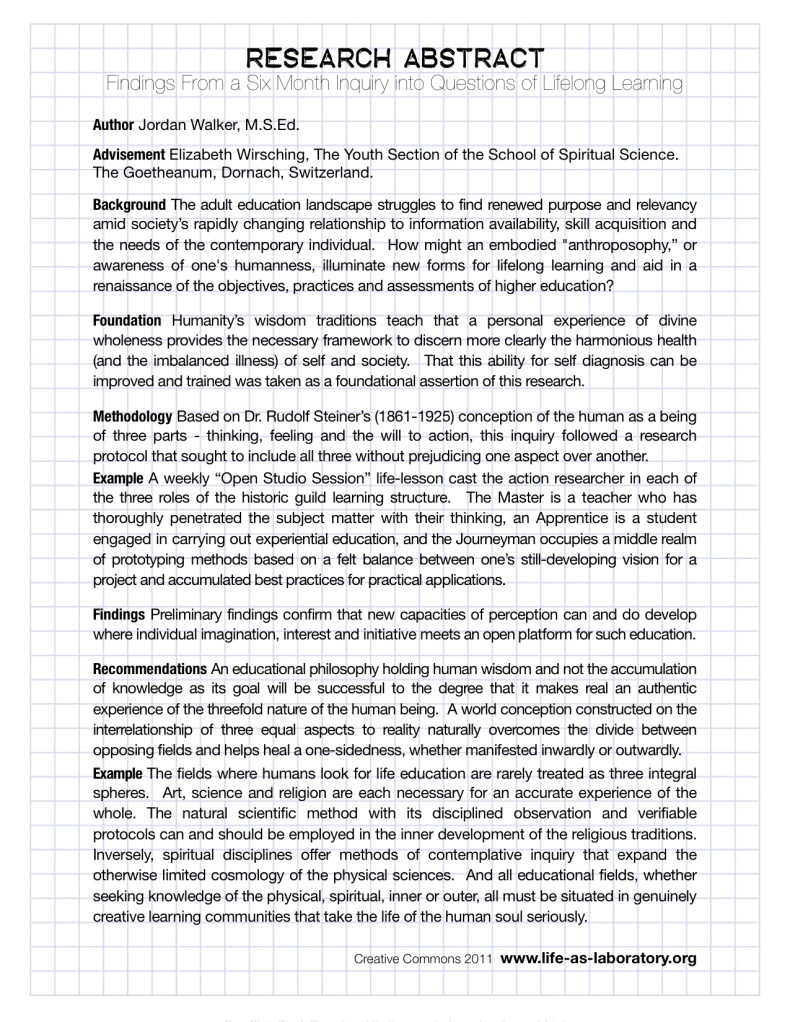 abstract and research paper Your abstract should contain at least your research topic, research questions, participants, methods, results, data analysis, and conclusions you may also want to list keywords from your paper in your abstract to do this, indent as you would if you were starting a new paragraph, type keywords.